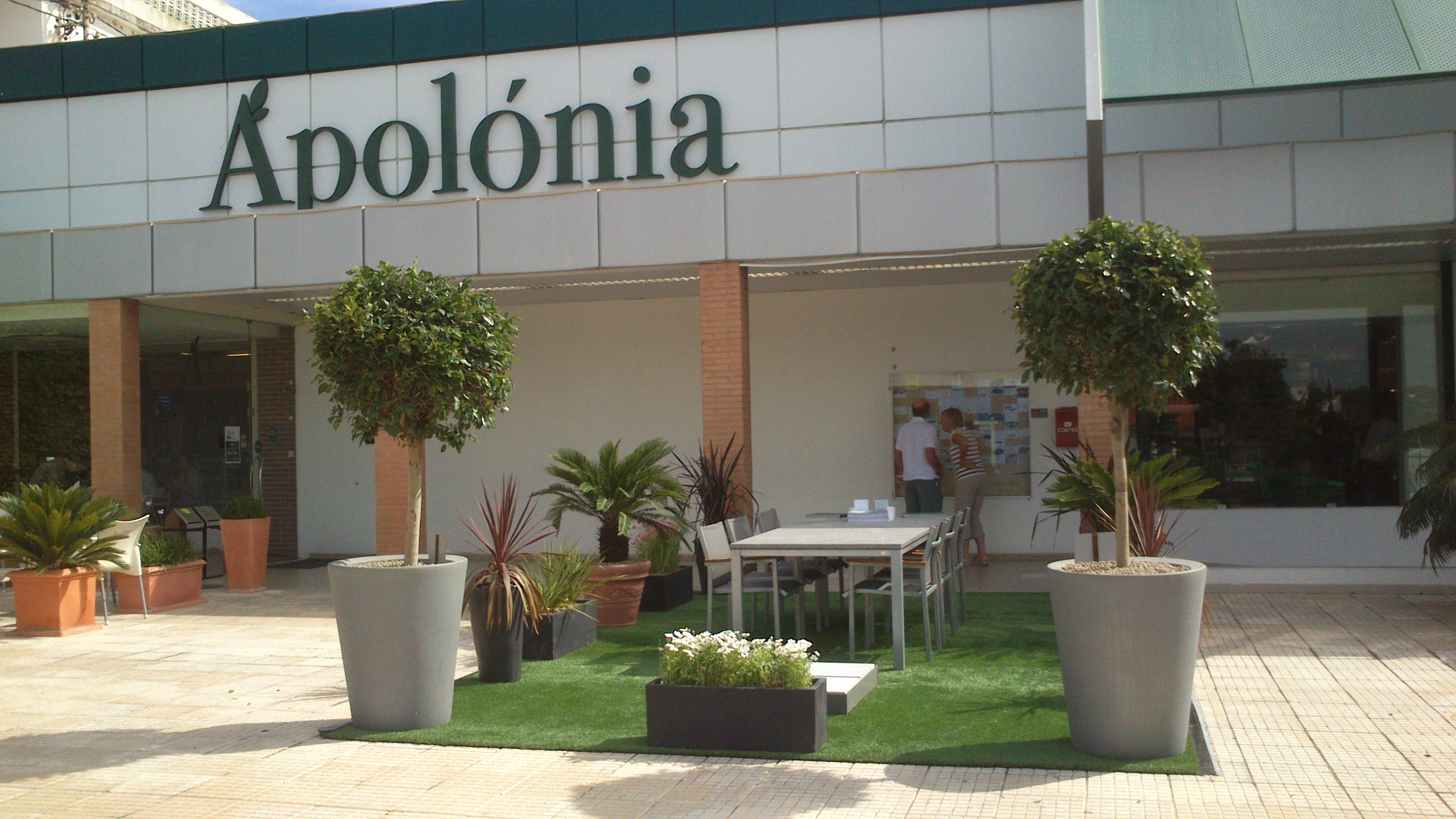 Jardim Vista exhibits at Apolónia