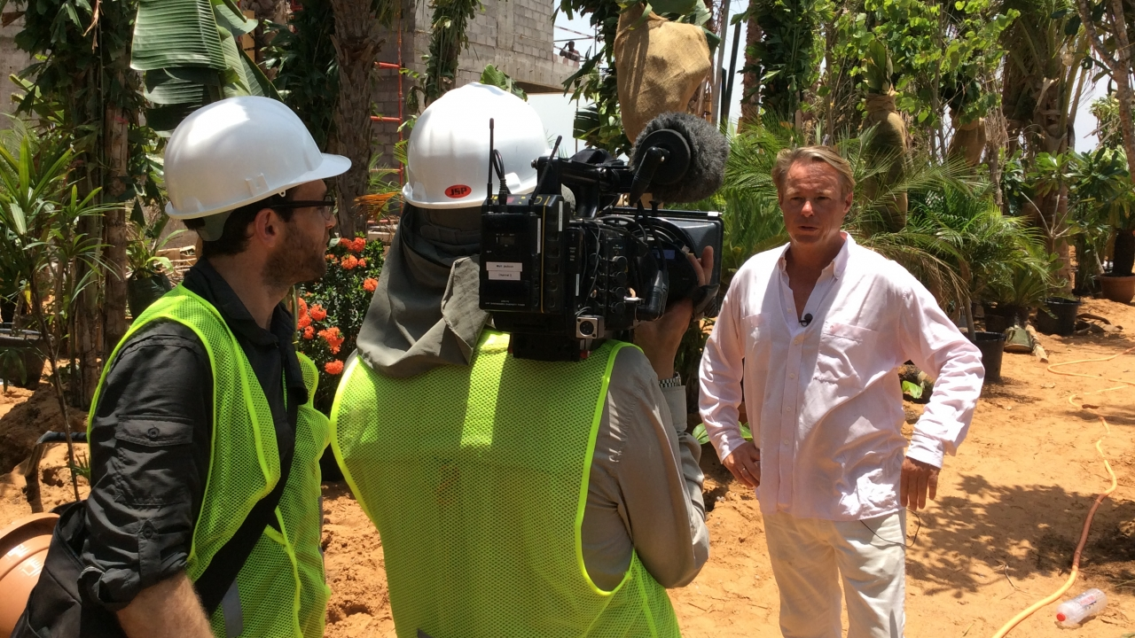 Richard Westcott interviewed by Discovery Channel